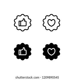 Recommendation Icon Logo Vector Symbol