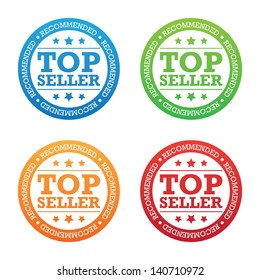 Recommended Top Seller Label