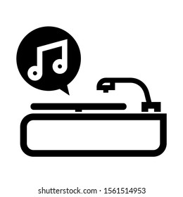 record icon isolated sign symbol vector illustration - high quality black style vector icons