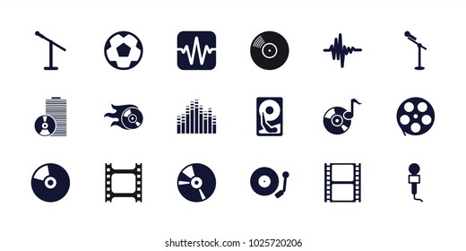 Entertainment Icons Stock Images, Royalty-Free Images