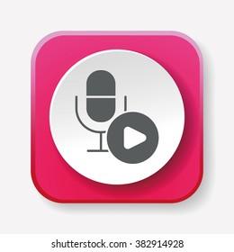 record microphone icon