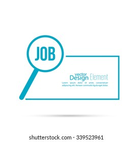 Recruitment. Concept search  job for open position.