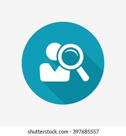 Recruitment vector icon