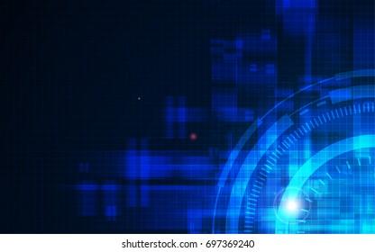 rectangle pattern glitch design blue black background