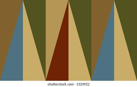 Rectangle and triangle pattern.