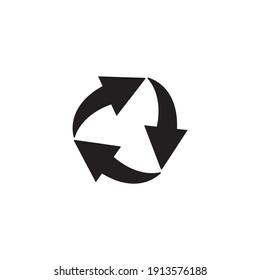 recycle arrow icon symbol sign vector
