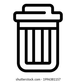 recycle bin icon outline vector 260nw 1996381157 4 Easy Ways To Open Svg Files