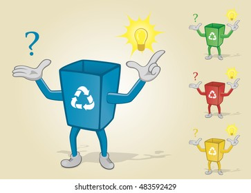 Recycle Bin With Question and Answer