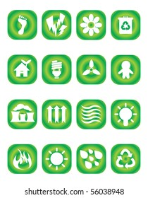 Recycle button set