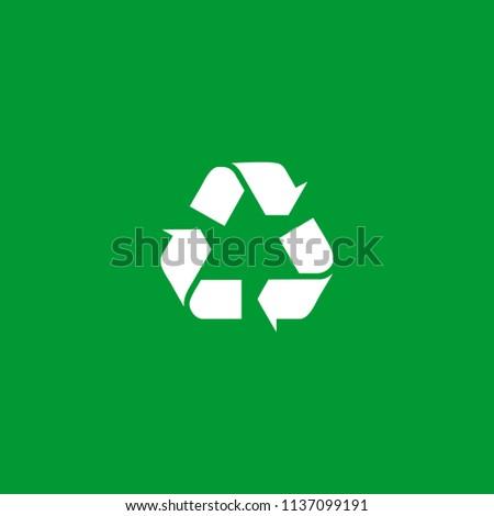 recycle green logo design inspiration stock vector royalty free rh shutterstock com