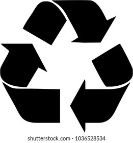 Recycle Logo Black
