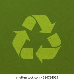 Recycle sign - Vector