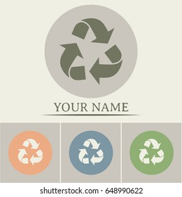 Recycle vector sign