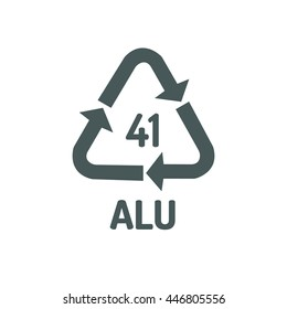 recycling symbols for plastic