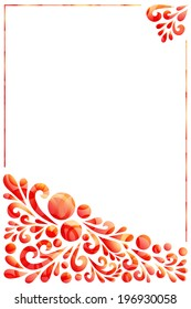 Red abstract background for certificate or others.