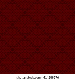 Red abstract background, striped textured geometric seamless pattern