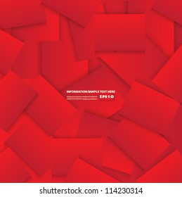 Red abstract background,Vector