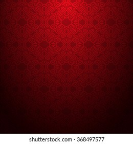red abstract geometric textured pattern background