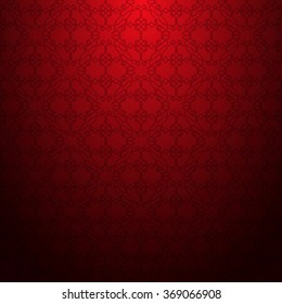 Red abstract geometric textured pattern