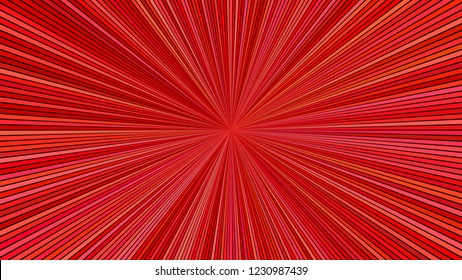 Red abstract psychedelic explosion concept background - vector star burst graphic design