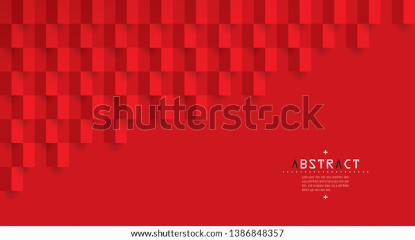 Red Abstract Texture Vector Background 3d Stock Vector (Royalty ...