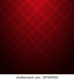 Red abstract  textured geometric pattern