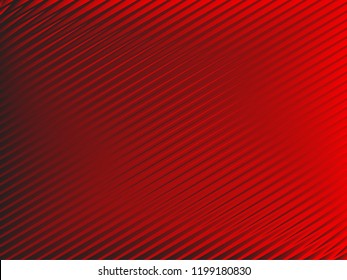Red backgraund with absctract lines. New design for ad, poster, banner of your website.