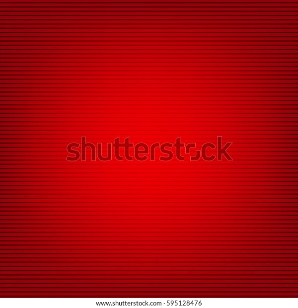 Red Background With Gradient Mesh, Vector Illustration