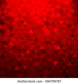 Red background texture. Vector illustration