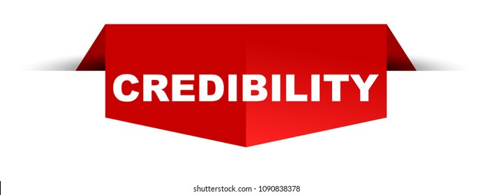 red banner credibility