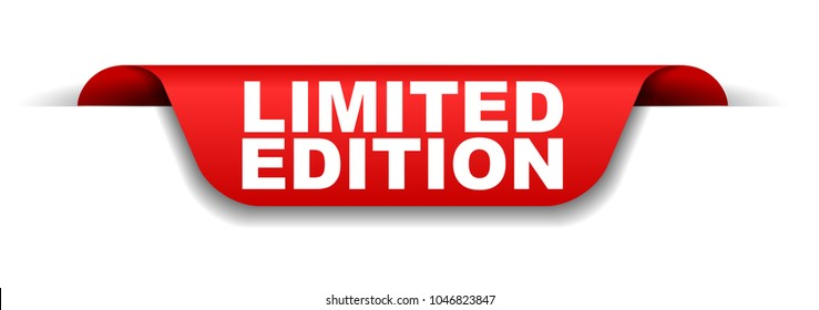 red banner limited edition