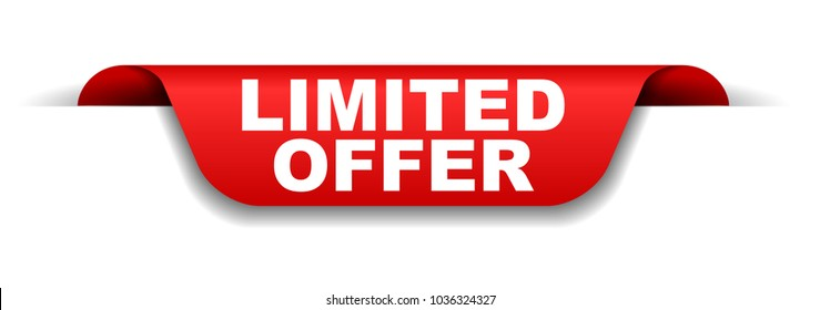 red banner limited offer