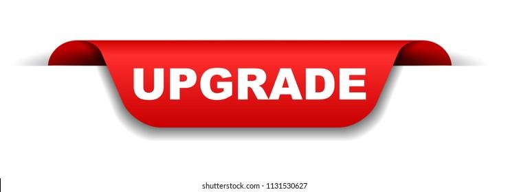 red banner upgrade