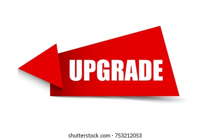 red banner upgrade
