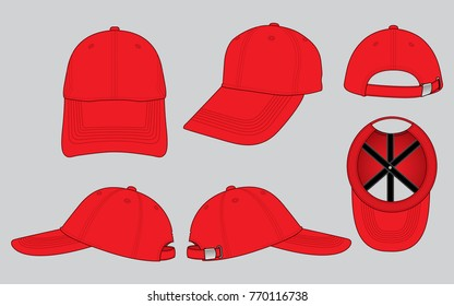Red cap images stock photos vectors shutterstock red baseball cap for template maxwellsz
