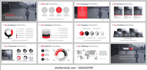 Red Powerpoint Templates Images Stock Photos Vectors