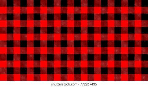 Red black chess pattern.