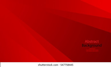 Red and black color background abstract art vector