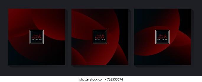 Red & Black Pattern