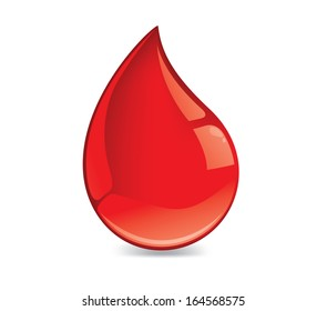 Red Blood drop icon