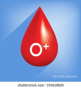 Red blood drop icon ,Blood type,blood group