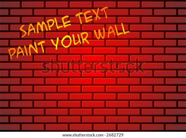 Red brick wall suitable for backgrounds or paint some graffiti