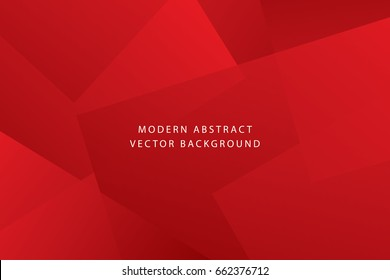 Red bright and luxury dynamic modern abstract background