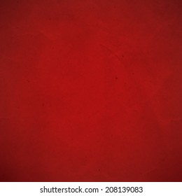 Red Cardboard, With Gradient Mesh, Vector Illustration