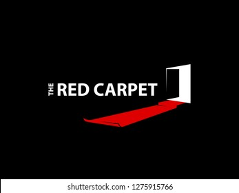 The Red Carpet. Simple, unique and memorable logo. Suitable for any business and industry.