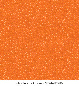 Red caviar seamless pattern. Repeating vector background, texture, Wallpaper, wrapping paper, textile or fabric on the theme of seafood. Lots of salmon ROE