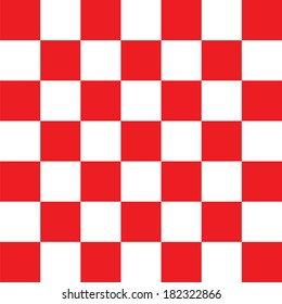 Red checkered abstract background