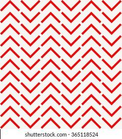 Red chevron pattern, arrow background