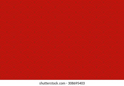 Red Chinese background vector pattern for new years celebrations
