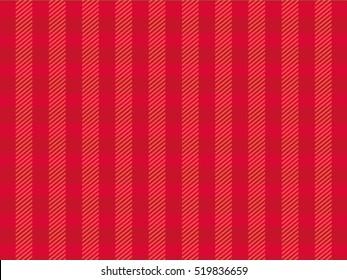 Red Christmas Tartan Vintage Background Vector Illustration